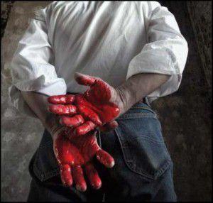 Убийца-Руки в крови