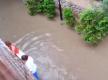 В Бердянске сильный ливень затопил санаторий