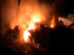 В Запорожье на Правом берегу подожгли машину