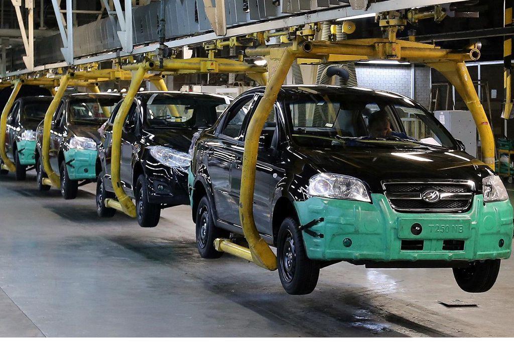 Вгосударстве Украина кконцу зимы на74% возросло производство легковых авто