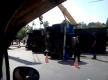 Возле «Дубовки»перевернувшийся грузовик упал  на «Жигули»
