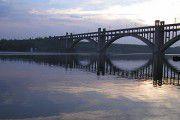 Пьяный запорожец собирался спрыгнуть с моста Преображенского