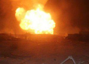 В Бердянске подожгли дом с трупом мужчины