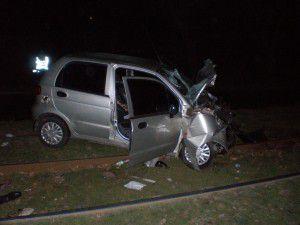 В Запорожье водитель без прав на БМВ убил семейную пару