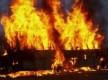 Под Киевом сожгли автобус с запорожскими налоговиками