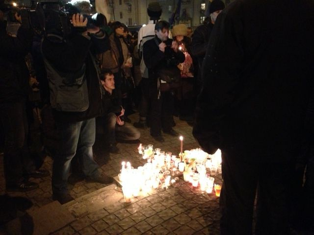 Запорожцы почтили память павших
