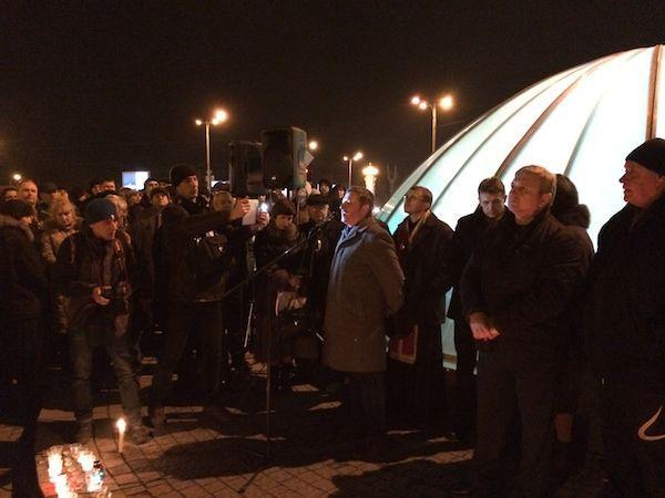 На Запорожском вече выступил активист