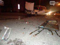 ДТП возле «Украины»: «Жигули» влетели в «Ниссан» (Видео)