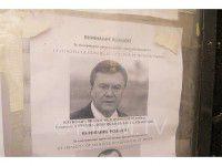 Фотофакт: в Мелитополе ищут Захарченко и Януковича