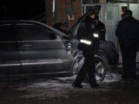 В Запорожье подожгли машину пророссийского активиста