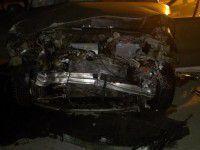 В Энергодаре пьяный водитель спровоцировал ДТП на встречке (Фото)