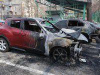 В Запорожье сожгли авто экс-начальника КП «Основание»