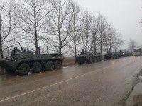 Российских БТРов в Запорожье нет — Министр обороны
