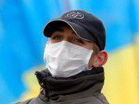 В Запорожье  под стенами милиции прошел пикет от имени «Правого сектора»