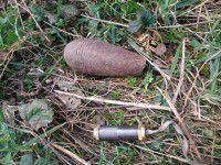 СБУшники нашли возле трассы тайник с боеприпасами