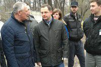 Запорожский губернатор успел на три субботника