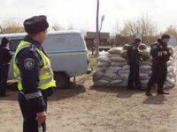 На  блок-посту задержали «Мерседес» с оружием и наркотиками