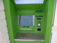 В Мелитополе подожгли банкомат «Приватбанка»