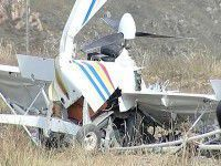 В Запорожской области разбился легкомоторный самолет