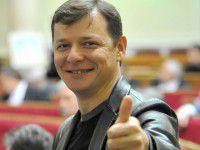 Олег Ляшко пообещал запорожским самообороновцам вилы и бронежилеты