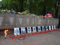 Запорожцы почтили память погибших в Одессе