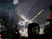 Сепаратисты обстреляли автобус с силовиками, едущими в Бердянск