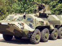 Запорожский офицер, который смертельно упал с БТР, мог быть убит соратниками