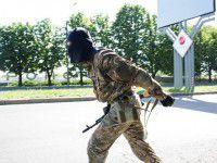 Военные в масках ворвались в оружейную комнату «Мотор Сичи»