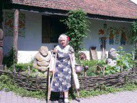 Патриотизм по-запорожски: пенсионерка на костылях не пропустила ни одного майдана