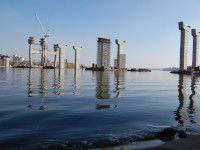 На запорожских мостах изрядно сэкономят: их строительство может затянуться на 100 лет