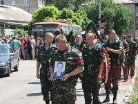Курортный город простился с молодым десантником, который погиб на востоке (ФОТО)