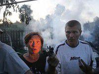 Беженцы в Запорожье: выброшенная «гуманитарка», пьяные мужчины
