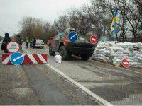 На запорожском блокпосту записали акустическую версию гимна Украины (ВИДЕО)
