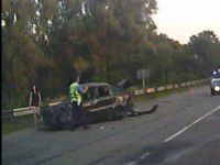 На Троицу на запорожской трассе произошла серьезная авария (ВИДЕО)