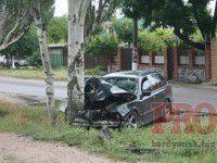 В Бердянске в аварию попала семья из Славянска