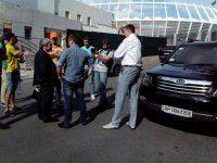 Столичные автомайдановцы подловили запорожского мэра в Киеве