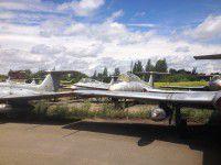 Запорожские самооброновцы уехали тренироваться на «кладбище» самолетов (Фоторепортаж)