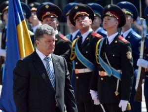 UKRAINE-RUSSIA-CRISIS-POLITICS-POROSHENKO-INAUGURATION