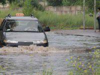 Ной отдыхает: потоп в городе-спутнике (ФОТО)