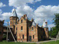 Замок Попова под Запорожьем может лишиться ценных экспонатов