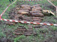 Возле цеха «Запорожстали» нашли более 100 артснарядов