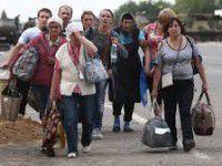 Беженцы покидают Запорожскую область