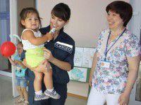 Маленьким переселенцам в Запорожье помогают психологи из МЧС