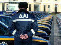 ГАИшники атаковали пьяных нарушителей слезоточивым газом (ВИДЕО)