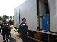 Запорожские спасатели отправились в Славянск (ФОТО)