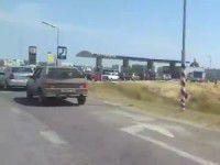В Энергодаре водители выстроились в очередь за бензином  (Видео)