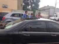 Фотографии с задержания автомобиля экс-губернатора