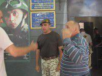 Фотофакт: В Запорожской области пьяный патриот ночью штурмовал военкомат