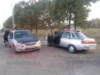 Водитель на «Kia» умышленно протаранил блокпост