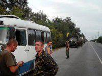 Бойцов батальона, который ночью прошел через Запорожье, обвинили в дезертирстве